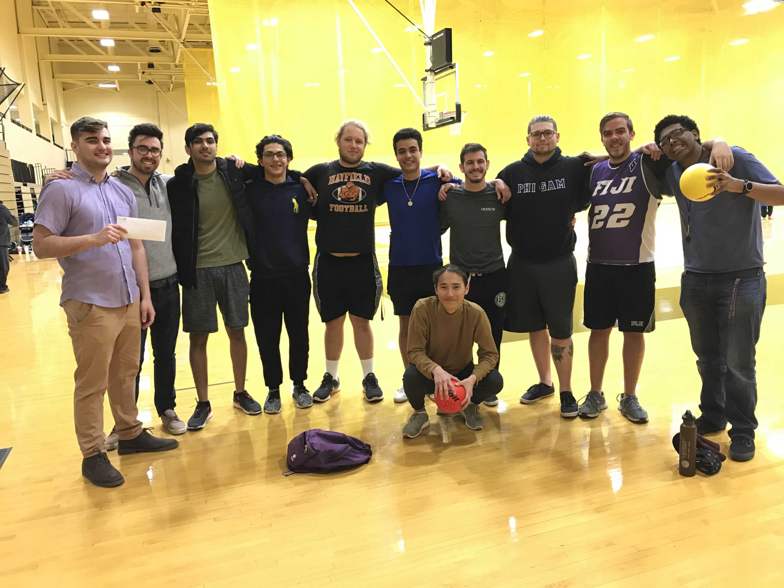 Don't Dodge the Issues: Dodgeball Tournament 2018