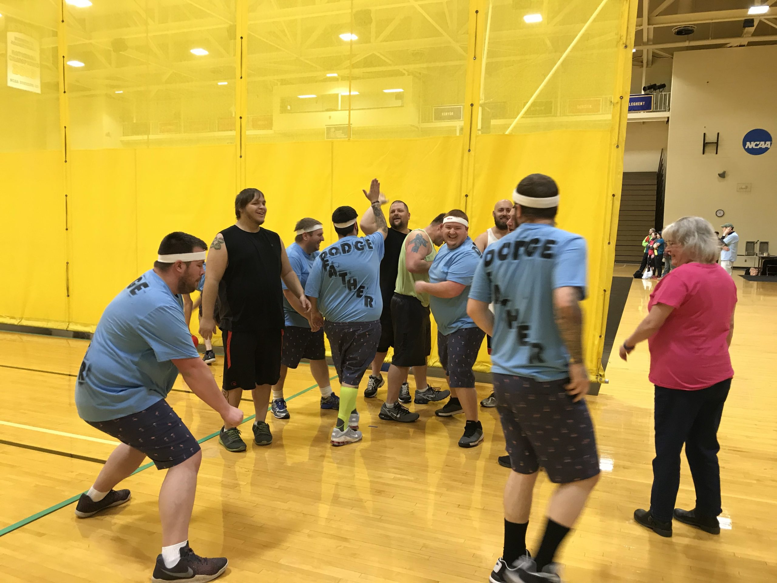 Don't Dodge the Issues: Dodgeball Tournament 2019